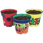 S&S® Educraft® Scholastic Pine Tree Planters Craft Kit, 50/Pack