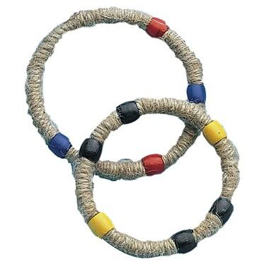 Geeperz™ Jungle Jute Wrap Bracelets Craft Kit, 36/Pack