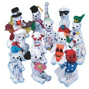 "Color-Me™ 2 3/4"" X 6 1/2"" Bears Activity, White"