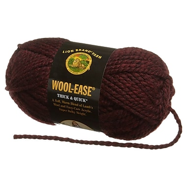 Wool-Ease Thick & Quick Yarn, Claret