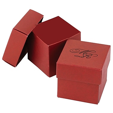 HBH™ 2-Piece Mix-and-Match Favor Boxes, Claret Red