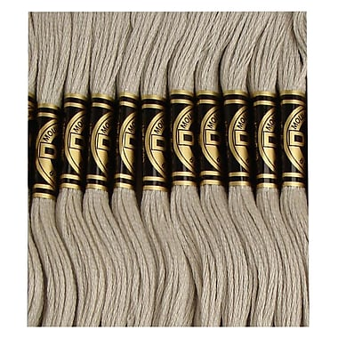 DMC Six Strand Embroidery Cotton, Very Light Brown Grey