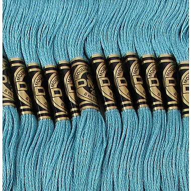 DMC Six Strand Embroidery Cotton, Turquoise