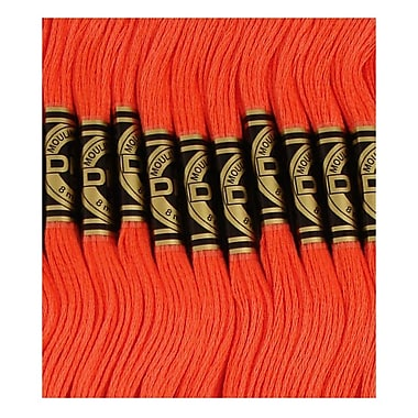 DMC Six Strand Embroidery Cotton, Light Christmas Red