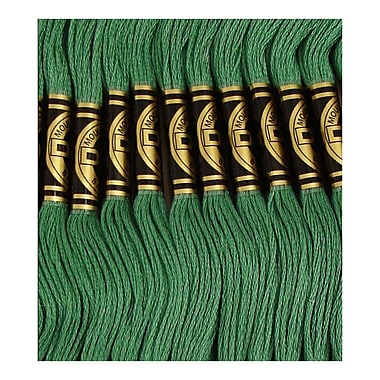 DMC Six Strand Embroidery Cotton, Dark Celadon Green