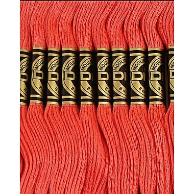 DMC Six Strand Embroidery Cotton, Medium Raspberry