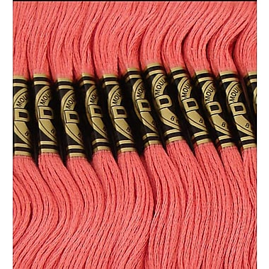 DMC Six Strand Embroidery Cotton, Rose
