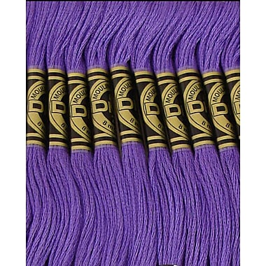 DMC Six Strand Embroidery Cotton, Very Dark Blue Violet