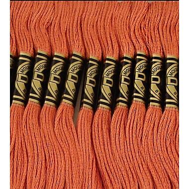 DMC Six Strand Embroidery Cotton, Medium Terra Cotta