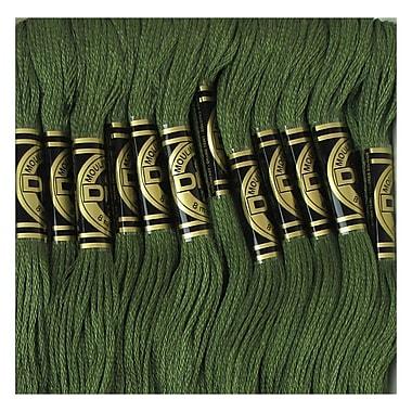 DMC Six Strand Embroidery Cotton, Dark Green Grey