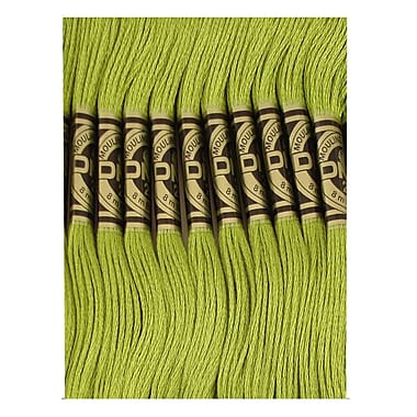 DMC Six Strand Embroidery Cotton, Moss Green