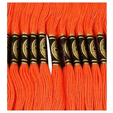 DMC Six Strand Embroidery Cotton, Coral