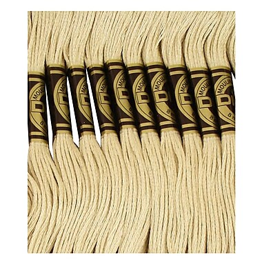 DMC Six Strand Embroidery Cotton, Very Light Drab Brown