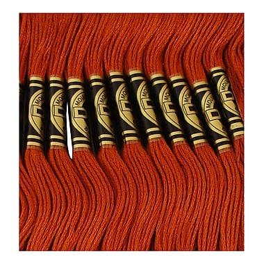 DMC Six Strand Embroidery Cotton, Dark Mahogany