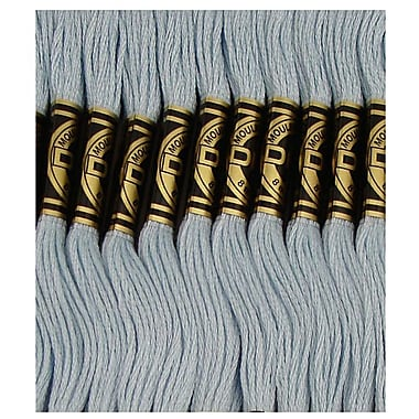 DMC Six Strand Embroidery Cotton, Pale Baby Blue