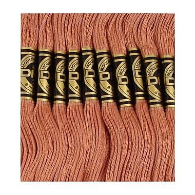 DMC Six Strand Embroidery Cotton, Light Rosewood
