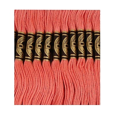 DMC Six Strand Embroidery Cotton, Light Raspberry