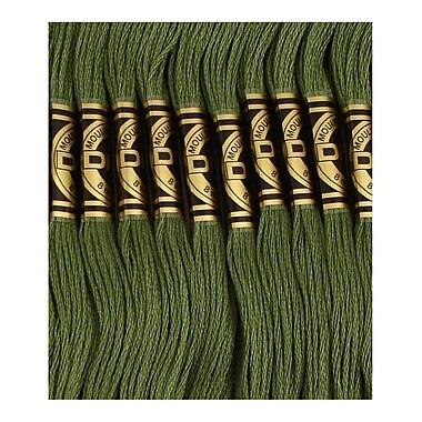 DMC Six Strand Embroidery Cotton, Dark Pine Green