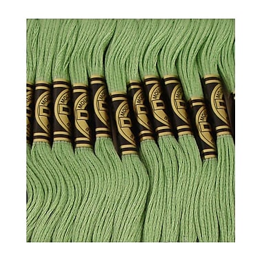 DMC Six Strand Embroidery Cotton, Light Pistachio Green