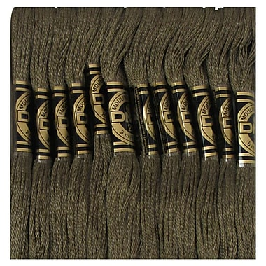 DMC Six Strand Embroidery Cotton, Dark Mocha Brown