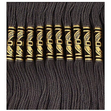 DMC Six Strand Embroidery Cotton, Very Dark Pewter Grey