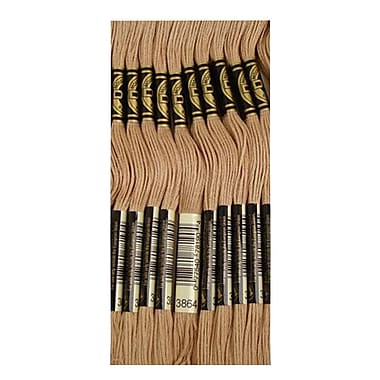 DMC Six Strand Embroidery Cotton, Light Mocha Beige