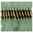 DMC Six Strand Embroidery Cotton, Fern Green