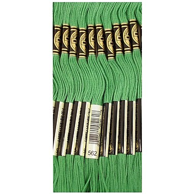 DMC Six Strand Embroidery Cotton, Medium Jade