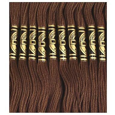DMC Six Strand Embroidery Cotton, Very Dark Mocha Brown