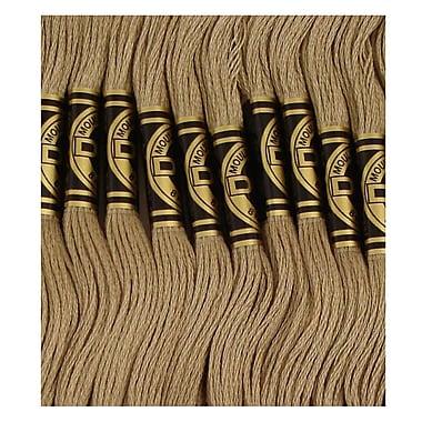 DMC Six Strand Embroidery Cotton, Medium Mocha Brown