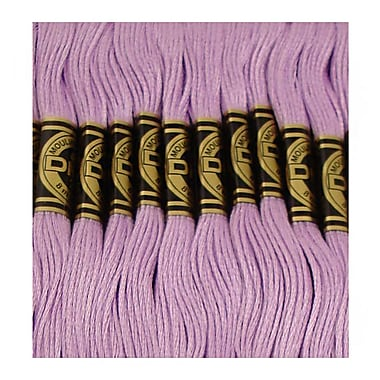 DMC Six Strand Embroidery Cotton, Medium Lavender