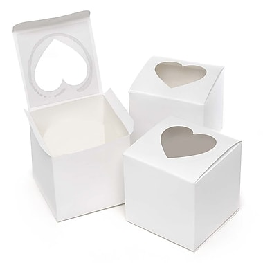 HBH™ Cupcake Favor Boxes, White