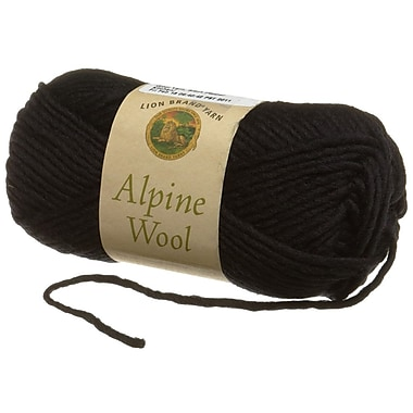 Alpine Wool Yarn, Black Pepper