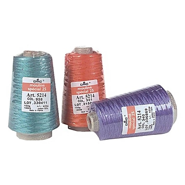 DMC Six Strand Embroidery Cotton 100 Gram Cone, Ecru