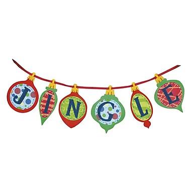 Jingle Banner Felt Applique Kit, 36