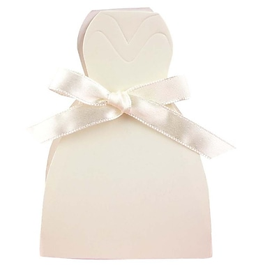 HBH™ Gown Favor Boxes, Ivory