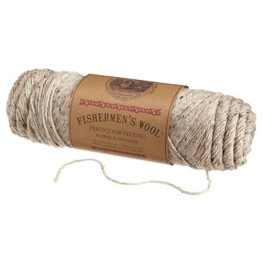 Fishermen's Wool Yarn, Birch Tweed