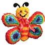 Huggables Butterfly Stuffed Toy Latch Hook Kit