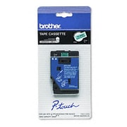 Brother Black on Green Laminated Tape (TC8001)