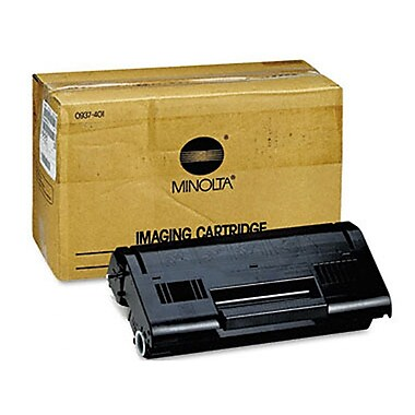 Konica Minolta Black Toner Cartridge (0937-401), High Yield