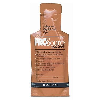 ProSource® NoCarb™ Liquid Protein Nutritional Supplements, Neutral, 1 oz