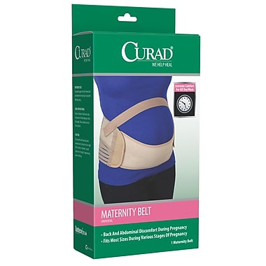 Curad® Maternity Belts, Large, 4/Pack