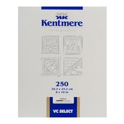 Kentmere 6007308 Variable Contrast Photo Paper, 8(W) x 10(L), Fine Luster, 250 Sheets
