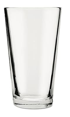 Anchor Hocking 176FU Mixing Glass, Clear, 16 oz., 24/Case 150030