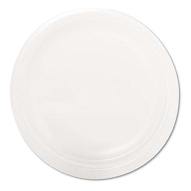 SOLO® Center Piece® RSF6 Dinnerware Plate, Polystrene Foam, 1000/Carton