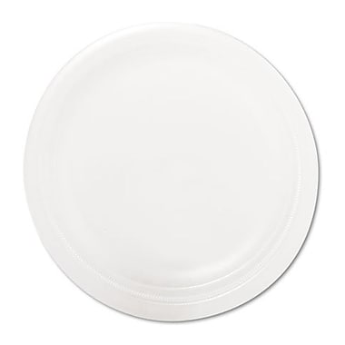 SOLO® Center Piece® RSF9 Dinnerware Plate, Polystrene Foam, 500/Carton