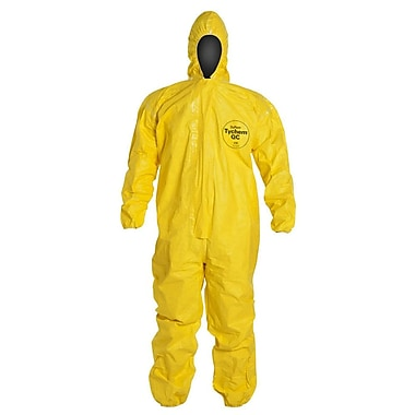 Dupont™ Tychem® QC127S Light Splash Protective Coverall, Yellow, X-Large