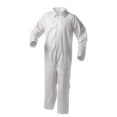 KleenGuard® A20 Breathable Particle Protective Coverall, W/Hood and Boots, White, 2X-Large