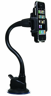 Macally Suction Cup Mount For iPhone, iPod, Cell Phone, MP4, GPS And PDA 163441