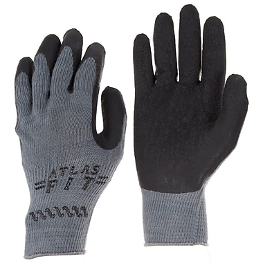 Showa Best® Glove ATLAS® Fit® 300B Rubber Coated Multi-Purpose Gloves, Large